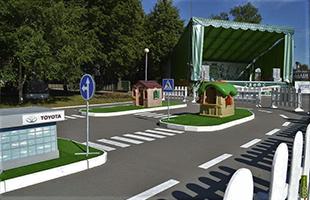 Разметка детских городков