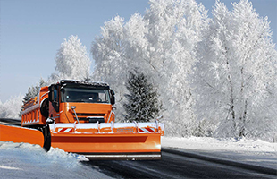 Механизированная уборка снега